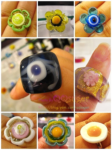 你拍攝的 戒指集合。