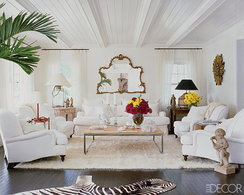 elle decor white looks right