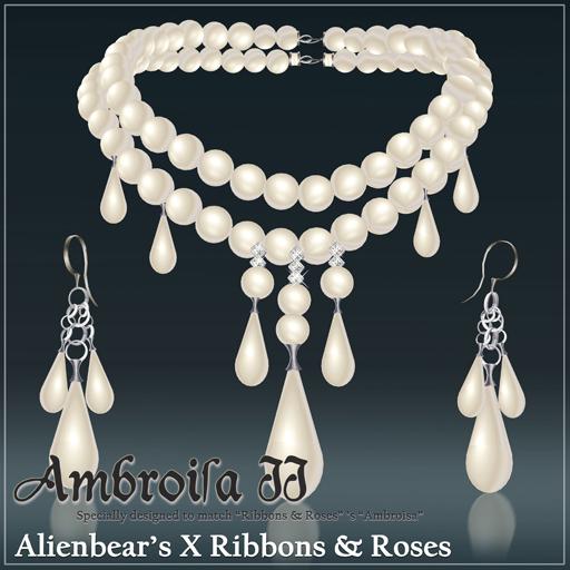 Ambroisa II white pearl