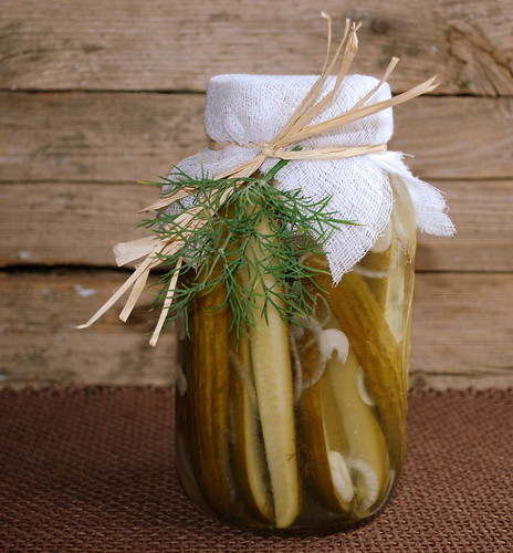 Pickles in the jar