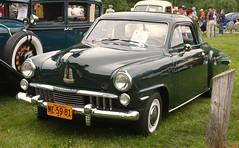 1947 Studebaker Champion Starlight coupe (carphoto) Tags: ypsilanti 1947studebakerchampionstarlightcoupe orphancarshow2009 richardspiegelmancarphoto