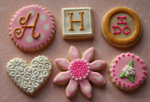 More Bridal Shower Cookies