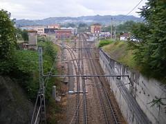 El Berrón - entroncamento ferroviário de linha estreita