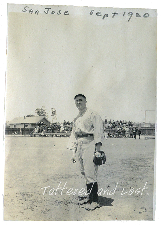 San Jose_ballplayer_1920_tatteredandlost
