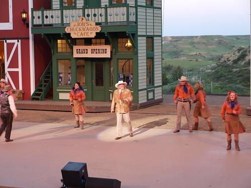 Medora Musical cast