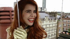 Paloma Faith up on the roof with Pocket TV (Pocket TV) Tags: rooftop tv faith paloma pocket palomafaith pockettv pockettvshow