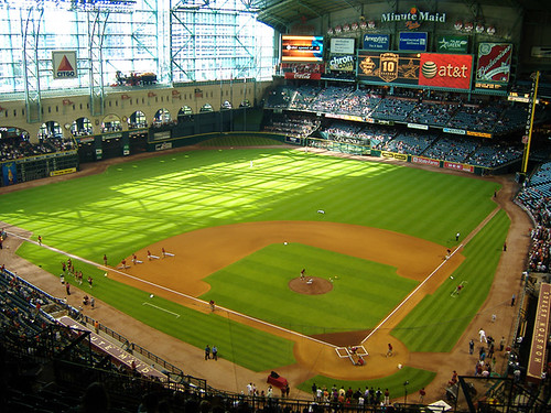 Minute Maid Park by ensign_beedrill.