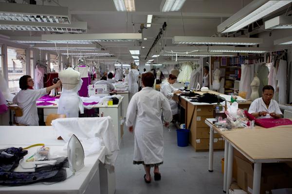 Atelier, dior, haute couture, christian dior