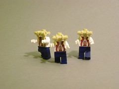 Half life Headcrab Zombies (Exxtrooper) Tags: gold cool kill all lego apocalypse made them ba minifigs custom grenade should rite decals launcher brickarms apocalego exxtrooper