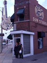 The girls at Sun Studio