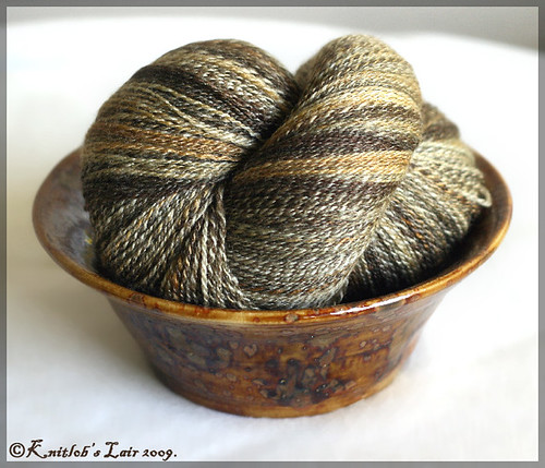 bowl of yarn from Kristin