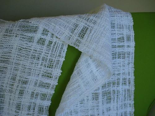 woven katia colibri scarf