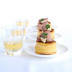 Roast Beef & Caramelised Onion Vol au Vents @ Pease Pudding by Alli Prime
