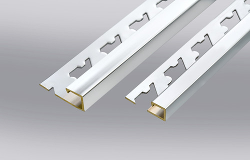 Alluminium decorative square edge profile