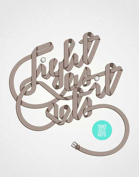 diseño con tipografías