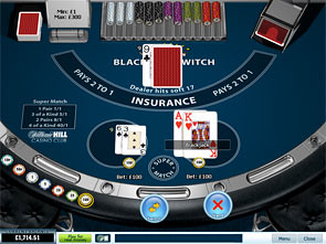 Blackjack Switch Win