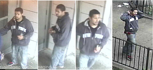 Images of the mugging suspect