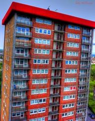 Tower Block (Billy McDonald) Tags: glasgow highrise hdr picnik towerblock multistorey iphone4