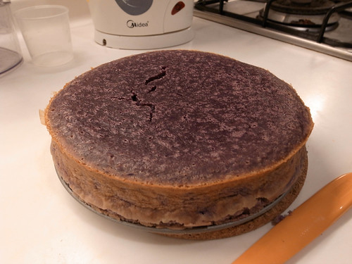 地瓜羊羹蛋糕