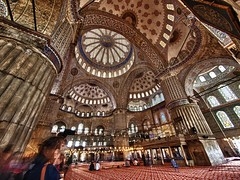 Blue Mosque, Istanbul (retroSPecktive) Tags: travel blue turkey olympus istanbul mosque hdr ep2