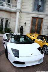 Supercar Photoshoot (Spyder Dobro) Tags: house celebrity cars photoshoot garage ferrari enzo diablo expensive edition lamborghini luxury supercar versace gallardo lambo ferrarienzo superleggera lp640 hypercar lp640versaceedition