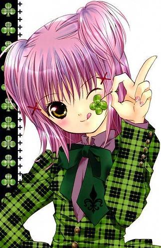Shugo Chara! Amu Hinamori Green 2 by R a m e n l o v e r [≧∀≦].