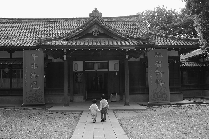 嘉義市史蹟資料館(黑白)14