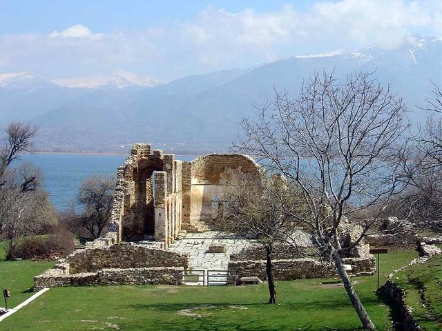 Δυτική Μακεδονία - Φλώρινα - Δήμος Πρεσπών Νησάκι Αγίου Αχιλλείου, Πρέσπες