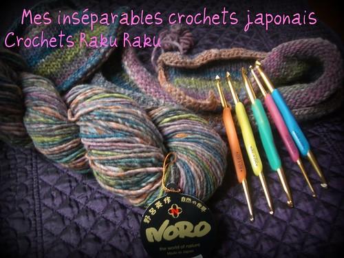 Crochets Raku Raku par vous