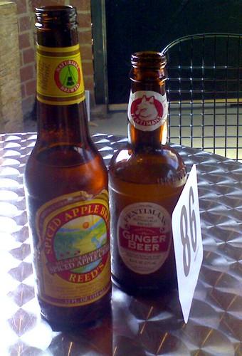@wurstkuche w/ ginger cider