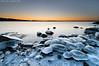 The icy entrance to dawn (Rob Orthen) Tags: winter sea sky ice rock sunrise suomi finland landscape dawn nikon europe scenic rob tokina scandinavia talvi dri meri maisema vesi archipelago pinta d300 kirkkonummi 1116 digitalblending porkkala nohdr orthen roborthenphotography tokina1116 tokina1116mm28 seafinland