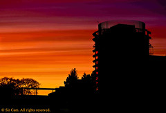 Divine (Sir Cam) Tags: cambridge sunset university silhouettes divine divinity facultyofdivinity sircam