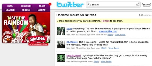 Skittles, Interweb The Rainbow