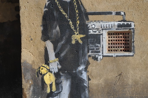 Banksy - Body Detail by Romanywg.