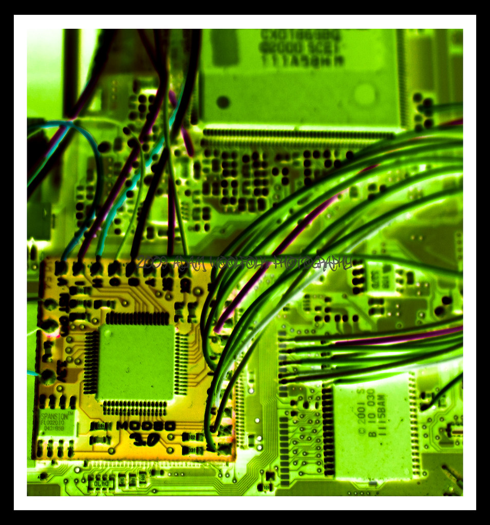 The Worlds Best Photos Of Chips And Wires Flickr Hive Mind Pics Electronic Circuit Board Showing Microchips Modded4 Adamwphoto Tags Green Broken Station Matrix Mod Play Negative Korean