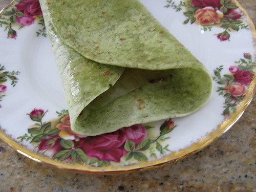 Quick Fruity Quesadilla 2