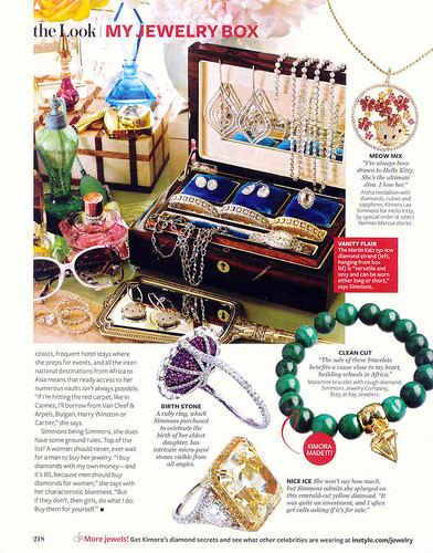Inside Celebrity Jewelry Boxes Straight from InStyle Magazine Gem