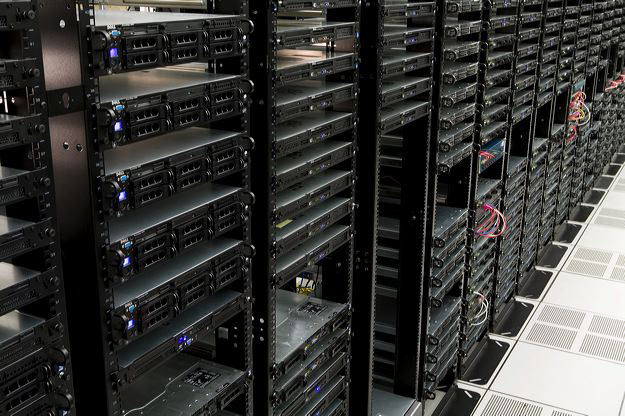 The Planet infrastructure racks
