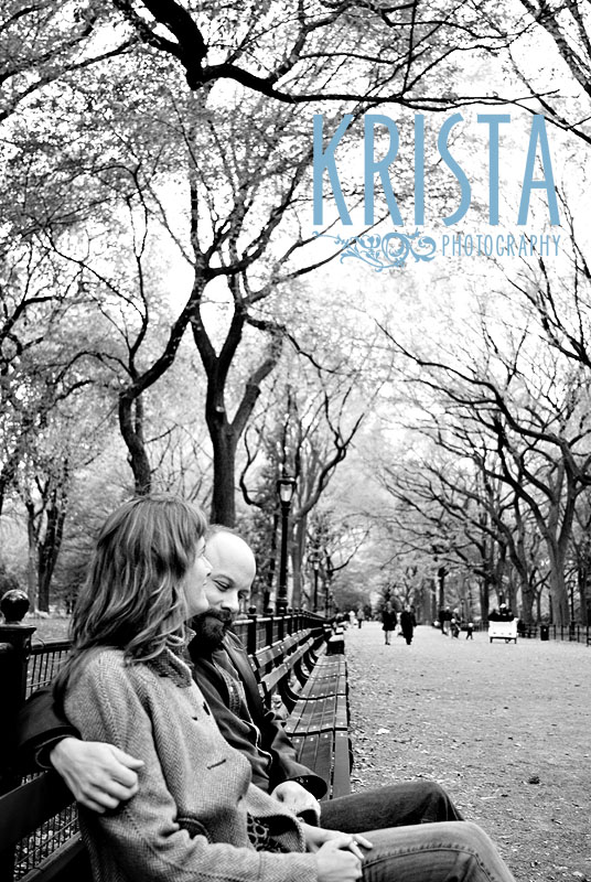 Central Park Anniversary Shoot
