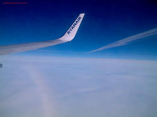 Flug mit Ryanair