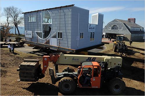 Lieb house's new home