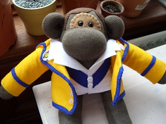 Birthday Monkey by mooosh ♥ miso funky