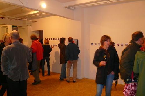 Polaroid Ausstellung bei Raum121. März 2009