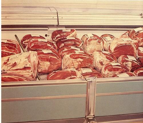 Marianne Boers. Safeway Meats. 1973.