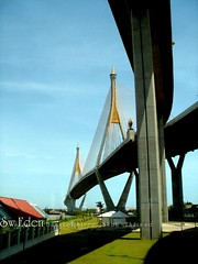 Mega Bridge - The Industrial Ring Road Bridge (The SW Eden ( )) Tags: road bridge architecture thailand concrete industrial bangkok structure ring thai mega the      megabridge    theindustrialringroadbridge