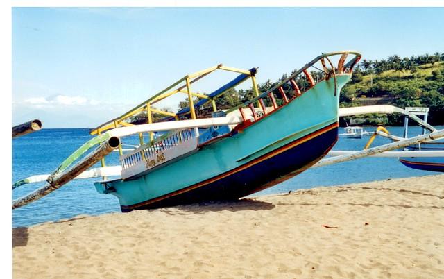 Lombok fishing boat
