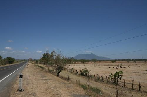 The scenic road towards Granada, Nicaragua.