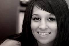 Sheena (gwilmore) Tags: portrait blackandwhite beautiful smile d50 sheena chandlerarizona afnikkor85mmf18d iloveyoursmile chercherlafemme fredastairestudio