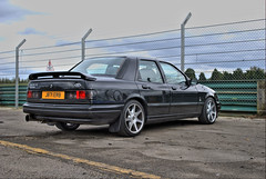 Sapphire Cosworth In The Paddock At Croft