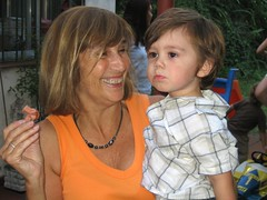 Mimi and Grandson Manuel